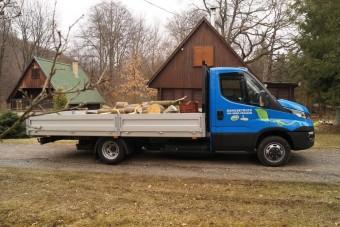 Faszállítás földgázzal: Iveco Daily CNG teszt