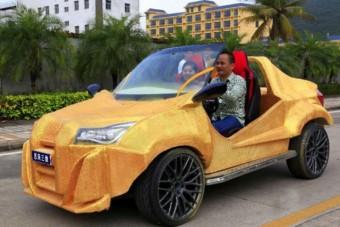 A kínaiak nyomtatott autója is elkészült végre