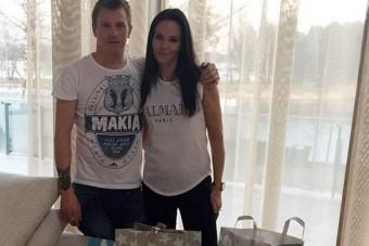 A nap képe: Räikkönen elrejtett valamit a húsvéti fotón