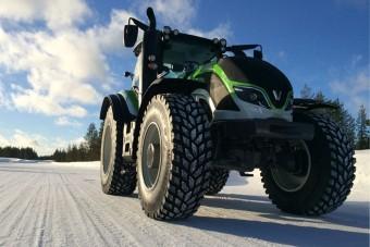 Új sebességi világrekord traktorral