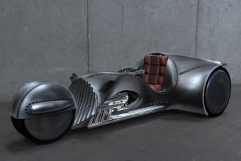 T. J. Hooker földönkívüli motorkerékpárja