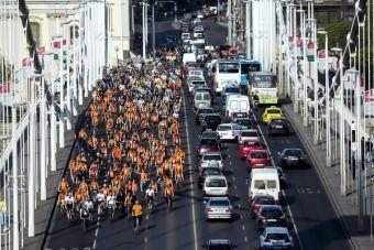 Így nézett ki ma Budapest - Bringások, bringások mindenhol