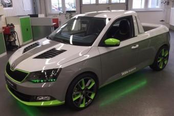 Visszatért a Škoda pick-up!