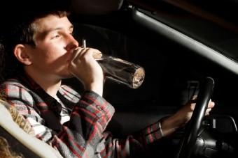 A szerencse fia ez az ittas sofőr