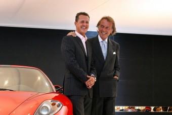 Schumachernek ajánlja kitüntetését a Ferrari-elnök