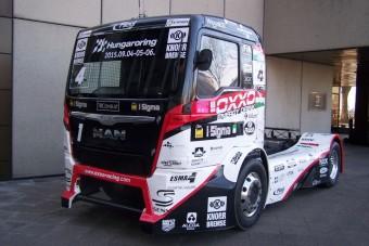 Tovább növelte előnyét Kiss Norbi a Kamion Eb-n