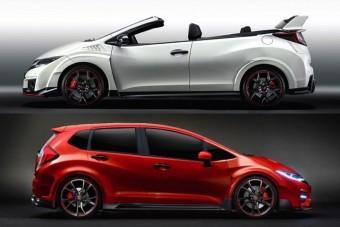 Honda Civic Type-R: kabrióban vagy kombiban kéne igazán?