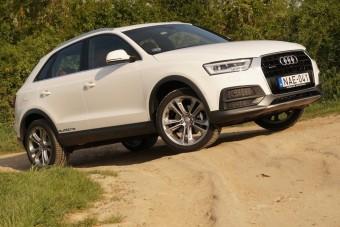 Új Audi Q3 sok extrával: ez a luxus, nem a Q7!
