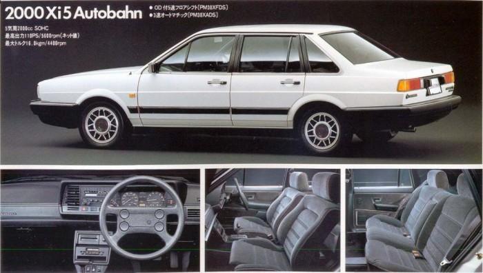 Nissan Santana. Az 1980-as évek elején a Nissan vezetése szerteágazó együttműködést tervezett a Volkswagennel. A puhatolózások után jó ötletnek tűnt a korabeli Passat limuzin, a Santana licencgyártásával kezdeni az együttműködést. Megmaradt a név, a Nissan Santana 1984-től 1989-ig volt gyártásban Japánban. Kanagavai szülőhelyével jóval alacsonyabb áron került piacra, mint eredetije