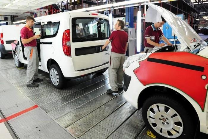 A Fiat Dobló gyártósora Bursában - megnézzük!