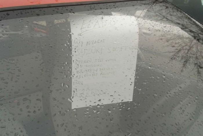 Irányáron 225 ezer forintért hirdették nemrég ezt a Swiftet a fővárosi Kőbányai úton. Nincs nagy árkülönbség a megkímélt és a lerúgott autók között