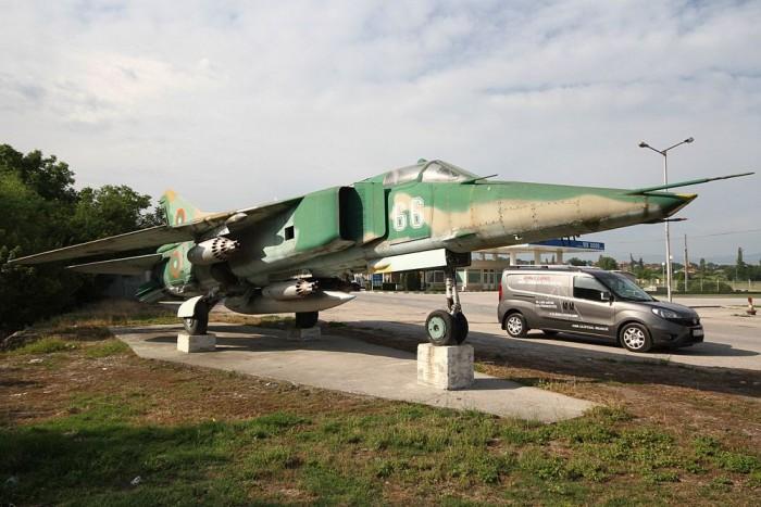 Egész egyben van ez a szovjet vadászgép