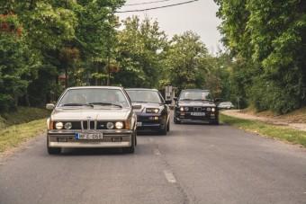 Három BMW, ami előtt térdre rogytunk a Balatonnál