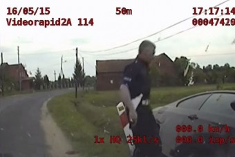 Ilyen profi rendőrségi üldözést ritkán látni