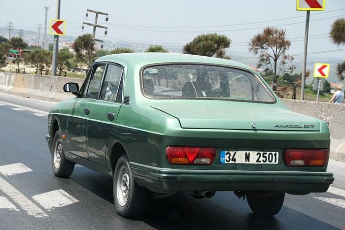 Anadol A2, a Ford Otosan márkanév alatt gyártott török autója