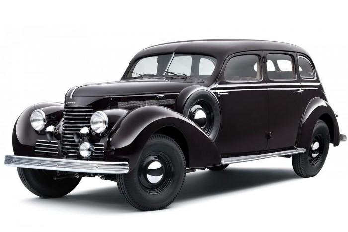 Skoda Superb 4000 V8 (1939-1940)