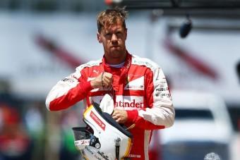 F1: Büntetés, Vettelt hátrasorolták