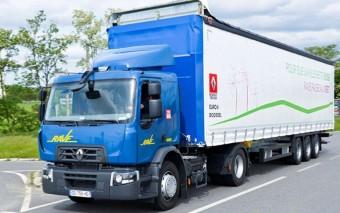 Sütőolajjal hajtott teherautók az Airbusnál
