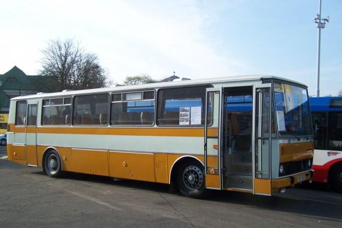2013-ban a prágai Busexpo kiállításon debütált ez a felújított Karosa C735 típusú autóbusz
