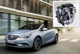 Új dízelmotor az Opel kabriójában
