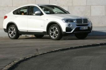 BMW X4: szimpatikus kistestvér