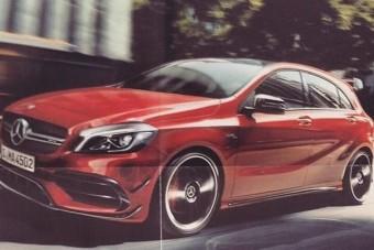 400 lóerős lesz a Mercedes kis sportmodellje?!
