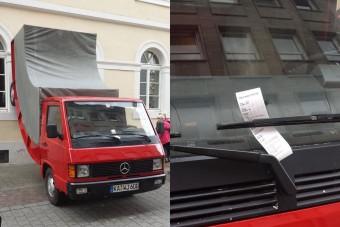 Nincs nagyobb fafej a német parkolóőröknél