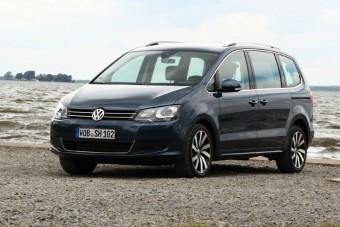 Frissítés után a Volkswagen Sharan