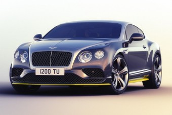 Légből kapott széria a Bentley-től