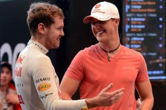 F1: Schumacher nélkül akar nyerni Vettel