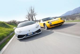 Összehasonlító teszt: Lamborghini Huracán és Miura