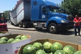 Ez a nyár legvidámabb kamionbalesete