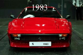 A Ferrari 30 éve belefér egyetlen képbe