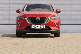 Amikor nem elég a szépség - Mazda CX3 kis dízellel, 4x4-gyel, automatával