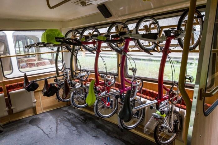 Így is szállítatók, bár erre bármilyen bringa képes.