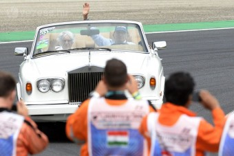 Piquet megautóztatta Ecclestone-t a Hungaroringen