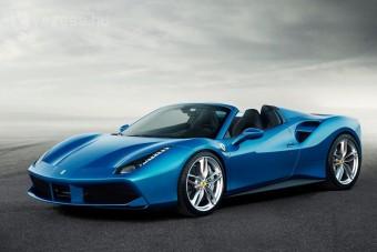 Nem volt még erősebb V8-as Ferrari Spider
