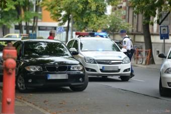 Rendőrök csaptak le egy BMW-s tanulóvezetőre Szegeden