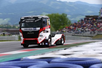 A Cseh Nagydíjjal folytatódik a kamion-Eb