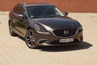 Mazda 6: olyan szép, hogy a többi mindegy is