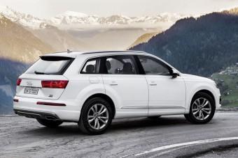Olcsóbb, takarékosabb az Audi Q7