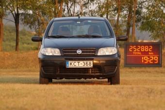Használt autó: 250 ezret futott Fiat Punto