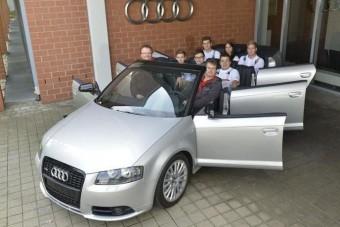 Hatajtós Audi kabrió - mi van?!