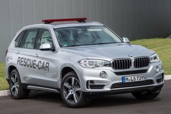 Hibrid BMW terepjáró lesz az elektromos F1 műszaki mentőkocsija