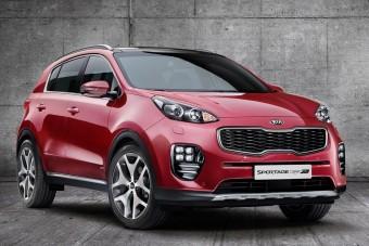 Hivatalos képeken a Kia új SUV-ja