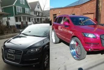 Az Audi, ami durvább plasztikán ment keresztül, mint Nicki Minaj