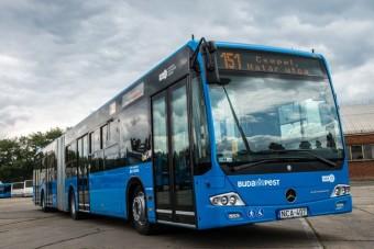 25 vadiúj csuklós buszt kapott Budapest