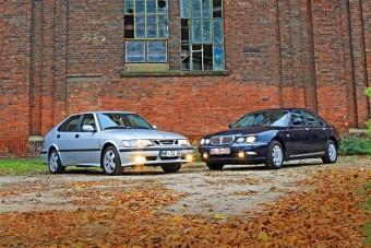 Összehasonlító teszt: Rover 75 és Saab 9-3