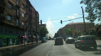 Gigantikus csőtörés Budapesten