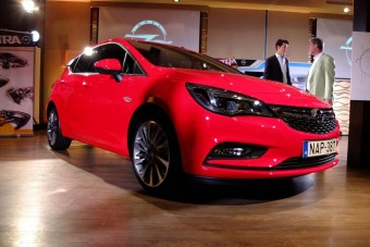 A világot megelőzve láttuk az új Opel Astrát